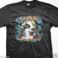 New DEF LEPPARD Hysteria Tour 88 Black T Shirt S M L XL 2XL 3XL