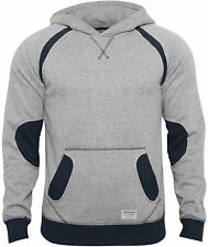 New Jack and Jones Mens Grey Saxo Sweater Designer Hoody