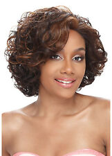 MIMI Model Model Lace Front Wig Synthetic Curly Style Baby Hair
