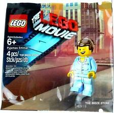 THE LEGO MOVIE - EMMET PAJAMAS OUTFIT - SEALED IN POLYBAG ,FAST, BESTPRICE - NEW