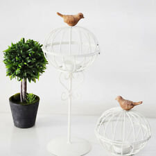 Decorative French Bird Cage Wedding Table Centrepiece Candle Holder Home Decor