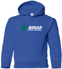 Dinar Airlines Retro Argentine Airline Logo HOODY
