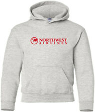 Northwest Airlines Retro US Airline Logo HOODY