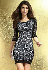 new 2014 Sexy Siren Paisley Lace Midi Dress LC6142 Fast Delivery casual style