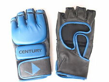 Century Brave Open Palm MMA Blue Grappling/Sparring Mitts/Gloves - Boxing/UFC
