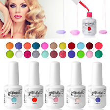 15ml Soak-off UV LED Nail Art Gel Polish Base Top Coat Foundation Manicure Kit