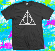 The Deathly Hallows - T Shirt -  6 colour options - Small to 3XL -
