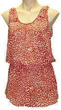"New ""KATIES"" Women Plus Size 10,12,14,16,18,20 Chiffon Tunic  Blouse Top Shirt"