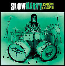 Slow & Heavy Rock Metal Drum Loops (24-bit WAV) Stoner Sludge Doom Post-Metal