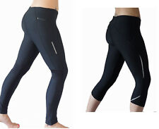 Running leggings tights yoga pilates gym sports cheap  ANKLE CAPRI LENGTH womens