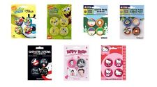 SPONGEBOB SQUAREPANTS south park GHOSTBUSTERS betty boop HELLO KITTY  BADGE PACK