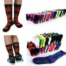 Hot Sale Marijuana Weed Leaf Ankle High Socks Plantlife High Cotton Socks
