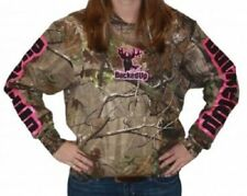 BUCKED UP Pullover Hoodie - Realtree APG Camo with Pink Logo 306966