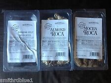 almond roca Brown & Haley factory seconds boo boos 12oz each you pick good deal