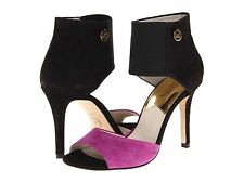 NEW MICHAEL Michael Kors SIVIAN Bootie HIGH HEELS, Pomegranate, Size 7.5, $165