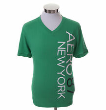 Aeropostale Men Short Sleeve V-Neck AERO 87 NY Graphic T-Shirt Style 4458 $0Ship