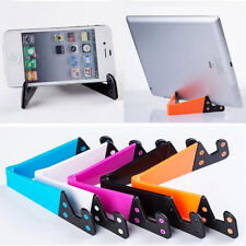 Desktop Tablet PC Foldable Universal Phone Mobile Holder Stand Vent Cradle New