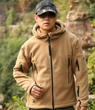 New Outdoor Thicken Warm Fleece Tactical Jacket Windproof Outerwear Coats