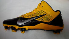 Nike Alpha Pro D Mid 3/4 Men's Football Cleats- Style 599025-080 MSRP $100+