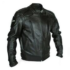 Men's Coats Cool Motorcycle Jacket Leather Bikers Racing Body Armor Gear Apparel