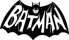 Traditional Batman Emblem Sign a Matt Vinyl Wall Art Sticker very big large