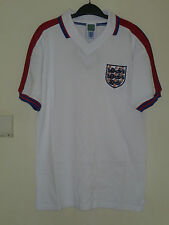 Bnwt England Home 1976 Retro Short Sleeved Football Shirt