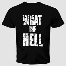 Rude T-Shirt Offensive  Funny Cool Retro Humor Slogan Crazy Cheeky What The Hell