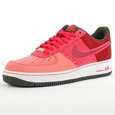 NIKE AIR FORCE 1 BASKETBALL SNEAKER FUSION RED NOBLE RED 488298 611