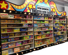 ONE BOX OF MOVIE THEATRE CANDY (ASSORTED FLAVORS) M-Z