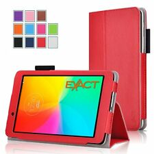 for LG G Pad 7.0 7-Inch V400 Tablet PC Leather Smart Wake Folio Case Cover Stand