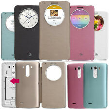 Luxury Quick Circle Smart Flip Leather Case Cover For LG Optimus G3 D855 D850