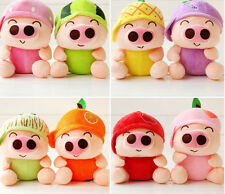 Cute Kids Baby Birthday Gift Fruit Pig Plush Toys McDull Pigs Wedding Dolls