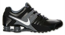 New NIKE Shox Current  Running Shoes Mens black/grey