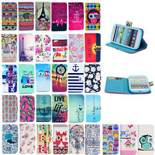 New Cute Flip Stand Leather Case Cover For Samsung Galaxy Trend Plus S7580 S7582