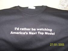 """""""I'D RATHER BE WATCHING AMERICA'S NEXT TOP MODEL! NEW!"""