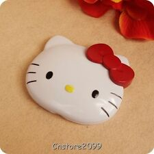 Cute Hello Kitty Two-sided Portable Practical Small Pocket Makeup Mirror KT Head