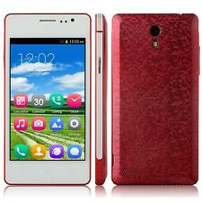"""4.0"""" Unlocked Android Smartphone GSM Dual Sim WIFI AT&T Straight Talk Phone Rose"""