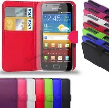 SAMSUNG GALAXY S2 i9100  - NEW PU LEATHER WALLET CASE COVER POUCH + SCREEN GAURD