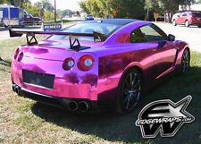 Chrome vinyl car wrap sticker decal film + free DIY tool set choose color & size