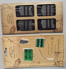 Hand Sewing Repair Needles Threader Embroidery  Beading Needle Kit