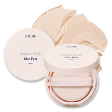 [Etude House] Secret Beam Power Pact Pressed Pearl Powder Compact & Puff 2 pcs