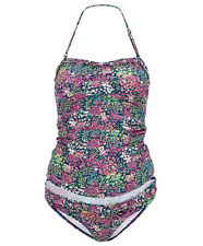 BN Mamas and Papas M&P Floral Maternity Swimming Suit Tankini Set Size 8 +16