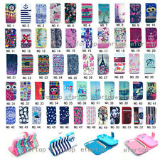 Fashion Flip Printed PU Leather Case Cover For Samsung Galaxy Ace II-X 2X S7560M