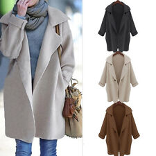 Womens Long Cardigan Shawls Ladies Knitted Cardigan Sweater Knitwear Coat Tops