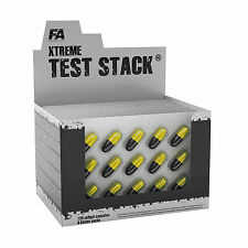Fitness Authority Test Stack 15-270 Caps. Natural Pro Testosterone Booster PCT