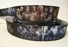 "GROSGRAIN GAME OF THRONES 1"" INCH RIBBON*YOUR CHOICE 1, 3,  5 YARDS**"