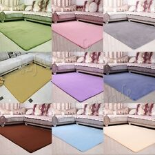 Fashion Coral Fleece Soft Touching Carpet Bedroom Study Living Room House Decor