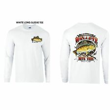 Fishing For Walleye Bite This LONG-SLEEVE TEE Small - 3XL