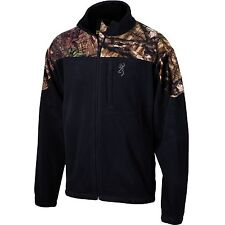 Browning Men's Steep Fleece and Camo Jacket Black NEW!