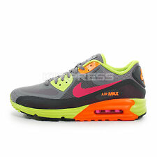 Nike Air Max Lunar 90 WR [654471-001] NSW Running Dark Grey/Fuchsia-Green